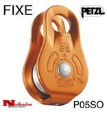 Petzl Pulley, FIXE, Yellow, Versatile & compact