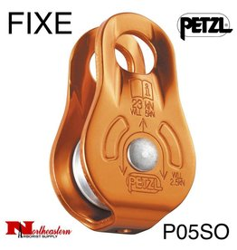 Petzl Pulley ,FIXE, Yellow, Versatile compact