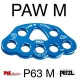 Petzl PAW M, Rigging Plate, Medium (Blue)
