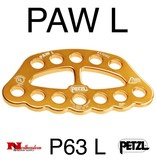 Petzl PAW L, Rigging Plate Large (Yellow)