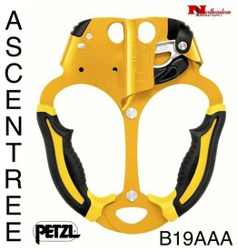 Petzl ASCENTREE, Double handled rope clamp for tree care