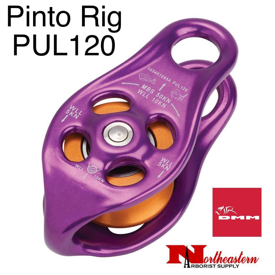 DMM DMM, PUL120, Pinto Rig Pulley, Purple Color