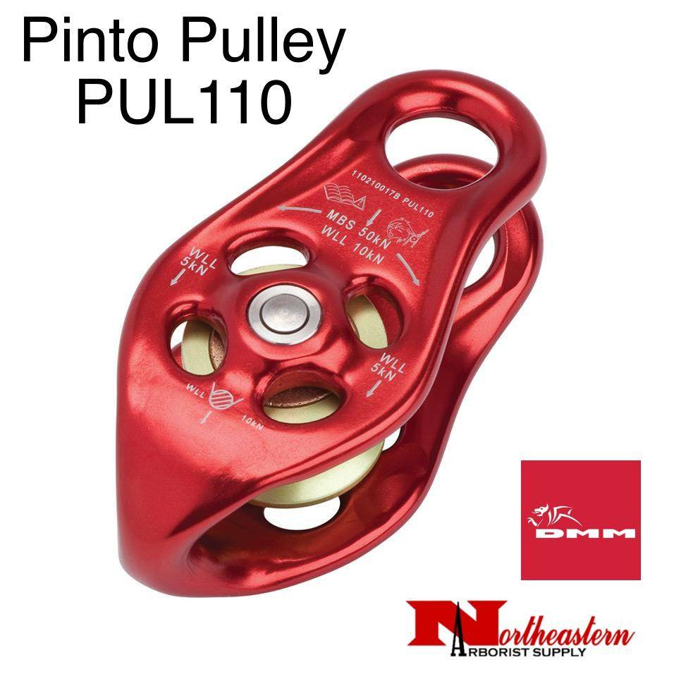 DMM Pinto Pulley, Red Color 50kn MBS