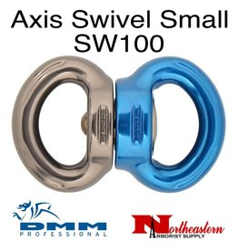DMM Axis Swivel, Small Titanium/Blue Color