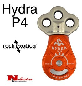 Rock Exotica Pulley, Hydra Triple Attachment Swivel-top