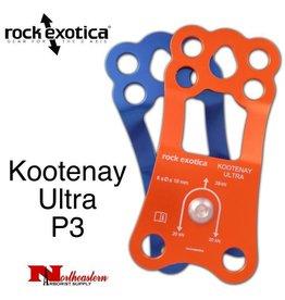 Rock Exotica Pulley, Kootenay Ultra P3