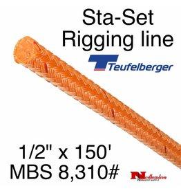 "Teufelberger Sta-Set 1/2"" x 150' 8,310# MBS"