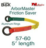 Buckingham Friction Saver 5' Hardcoat Anodized Aluminum Rings, 5000 lbs.