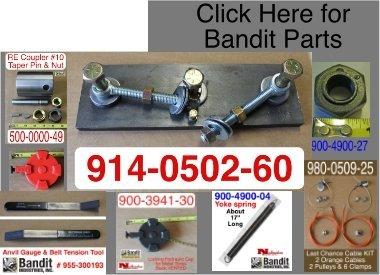 Bandit® Parts