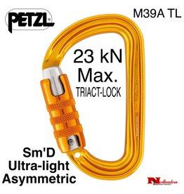 Petzl Carabiner, Sm'D Ultra-light asymmetric, 23 kN