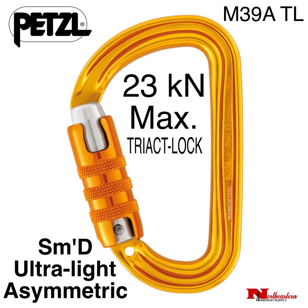 Petzl Petzl, Carabiner, M39A T, Sm'D Ultra-light asymmetric, 23 kN