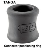 Petzl Petzl, TANGA, Connector positioning ring, helps hold the connector in the correct position