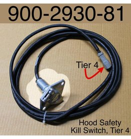 Bandit® Parts Wire Harness for Hood Safety Kill Switch for Tier 4