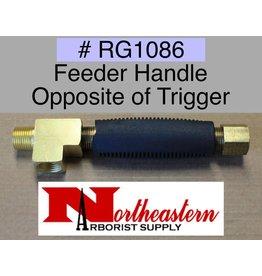 Feeder Handle Opposite of Trigger