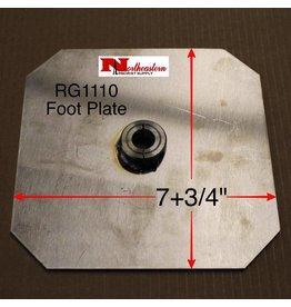 Root Feeder Foot Plate
