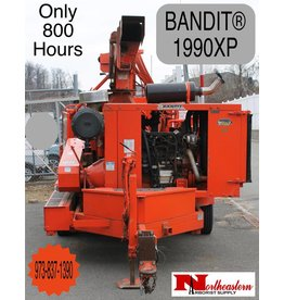 Bandit® Model 1990XP with John Deere 325hp Engine and Loader, 800 Hours