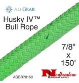 "All Gear Inc. Husky Bull Rope™ 7/8"" x 150' 32,000lbs ABS, Green"
