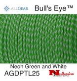 "All Gear Inc. ""Bull's Eye""™ Slick Arborist Throw Line Neon Green Polyethylene, and White Dyneema®"