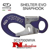 CT SHELTER EVO, Aluminum Double Gate Snaphook, 25kN