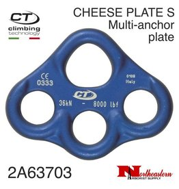 CT CHEESE PLATE S, Aluminum Multi Anchor Rigging Plate 36kn