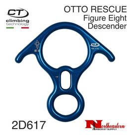 CT OTTO RESCUE Aluminum Figure Eight Descender with Ears 40kn