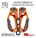 CT QUICK'ARBOR H Double-Handle Ascender, 300lbs Max. Load