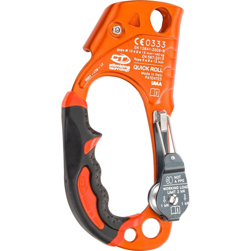 CT QUICK ROLL, Right Hand Ascender Orange, 300lbs Max. Load
