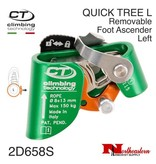 CT QUICK TREE Removable Foot  Ascender Left - Green