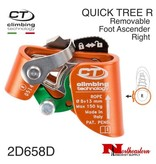 CT QUICK TREE Removable Foot  Ascender Right - Orange