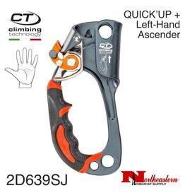 CT QUICK'UP + Left-Hand Light Alloy Ascender