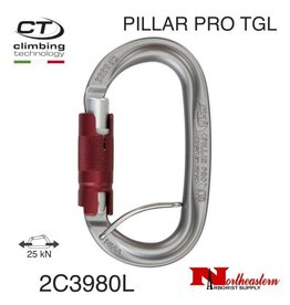 CT Carabiner, PILLAR PRO TGL with Catch Aluminum Oval, 25kN