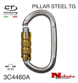 CT Carabiner, PILLAR STEEL TG Oval, 30 kN