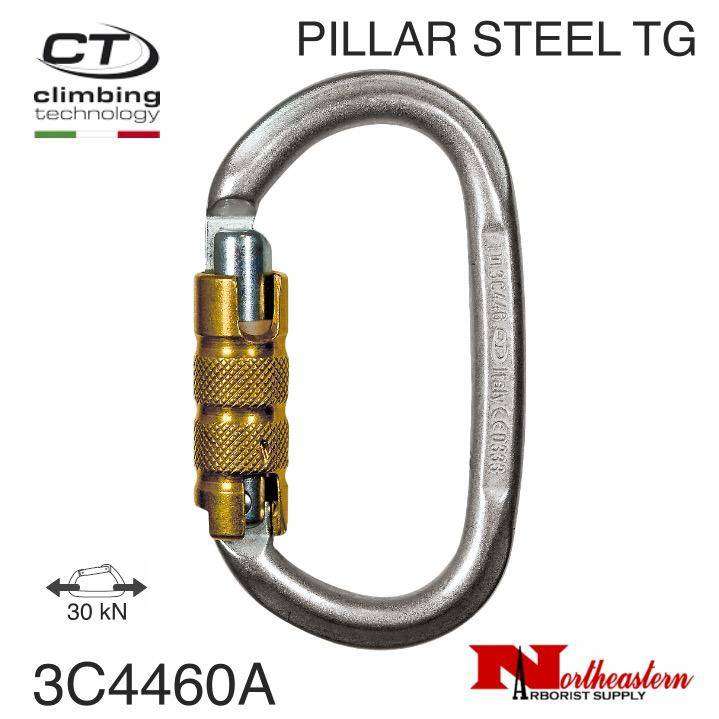 CT Carabiner, PILLAR STEEL TG Oval, 30 kN