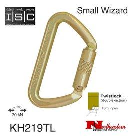 ISC Carabiner, SMALL IRON WIZARD 70kn MBS Twistlock