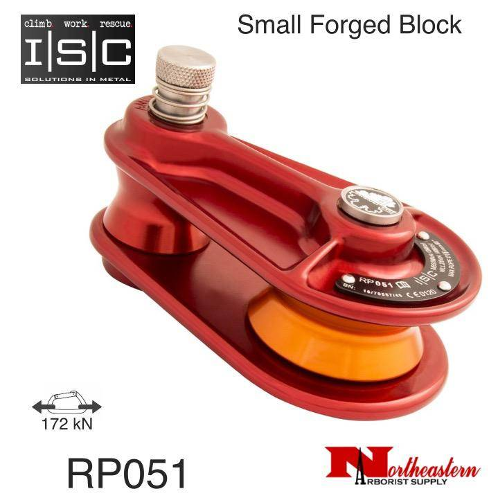 """ISC Block, Small Forged for 5/8"""" Rope, 17,000 lbs. MBS"""