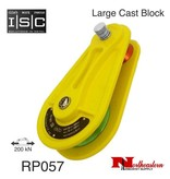 "ISC Block, Large Cast Aluminium for 3/4"" Rope, 44,962lbs. MBS"