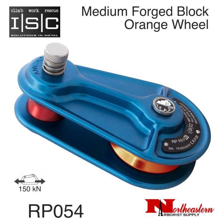 """ISC Block, Medium Forged for 5/8"""" Rope, 33,721 lbs. MBS"""