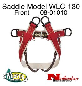 Weaver Saddle WLC-130 with Heavy-Duty Coated Webbing Leg Straps