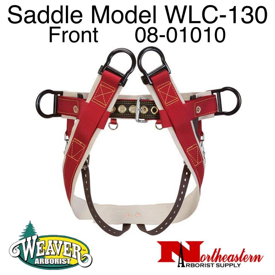 Weaver Saddle WLC-130 with Heavy-Duty Coated Webbing Leg Straps