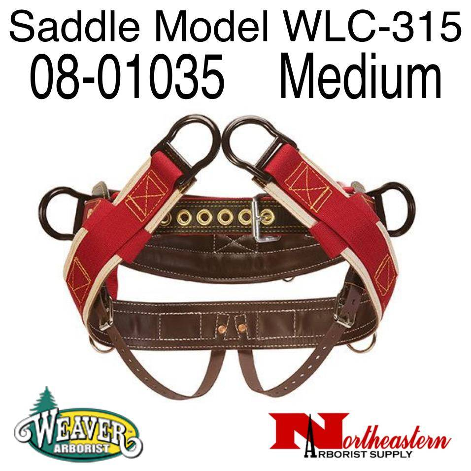 "Weaver Saddle WLC-315 Wide Back with 1"" Heavy-Duty Coated Webbing Leg Straps"