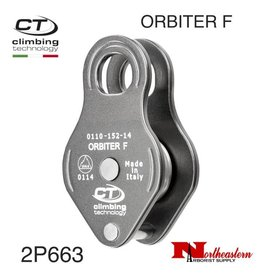CT Pulley, ORBITER F, Aluminum Fixed Micro, 30kN