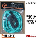 "@ HEIGHT Dead Eye Sling Tenex Tec 1/2"" x 10'"
