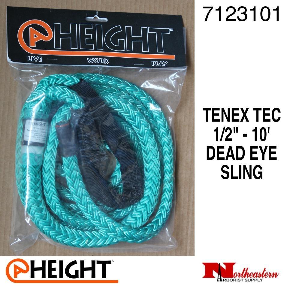 "@ HEIGHT Dead Eye Sling Tenex Tec 1/2"" x 10'"