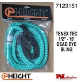"@ HEIGHT Dead Eye Sling Tenex Tec 1/2"" x 15'"