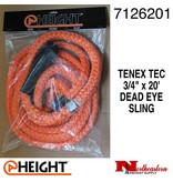 "@ HEIGHT Dead Eye Sling Tenex-TEC 3/4"" x 20'"