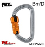 Petzl Bm'D, Lightweight asymmetrical high-strength carabiner, 32kN