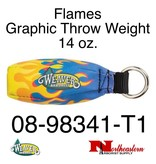 Weaver Flames Graphic Throw Weight 14 oz.
