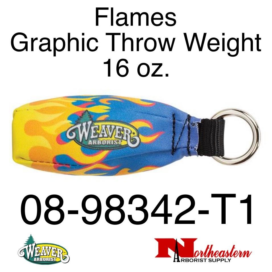 Weaver Flames Graphic Throw Weight 16 oz.