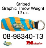 Weaver Striped Graphic Throw Weight 12 oz.