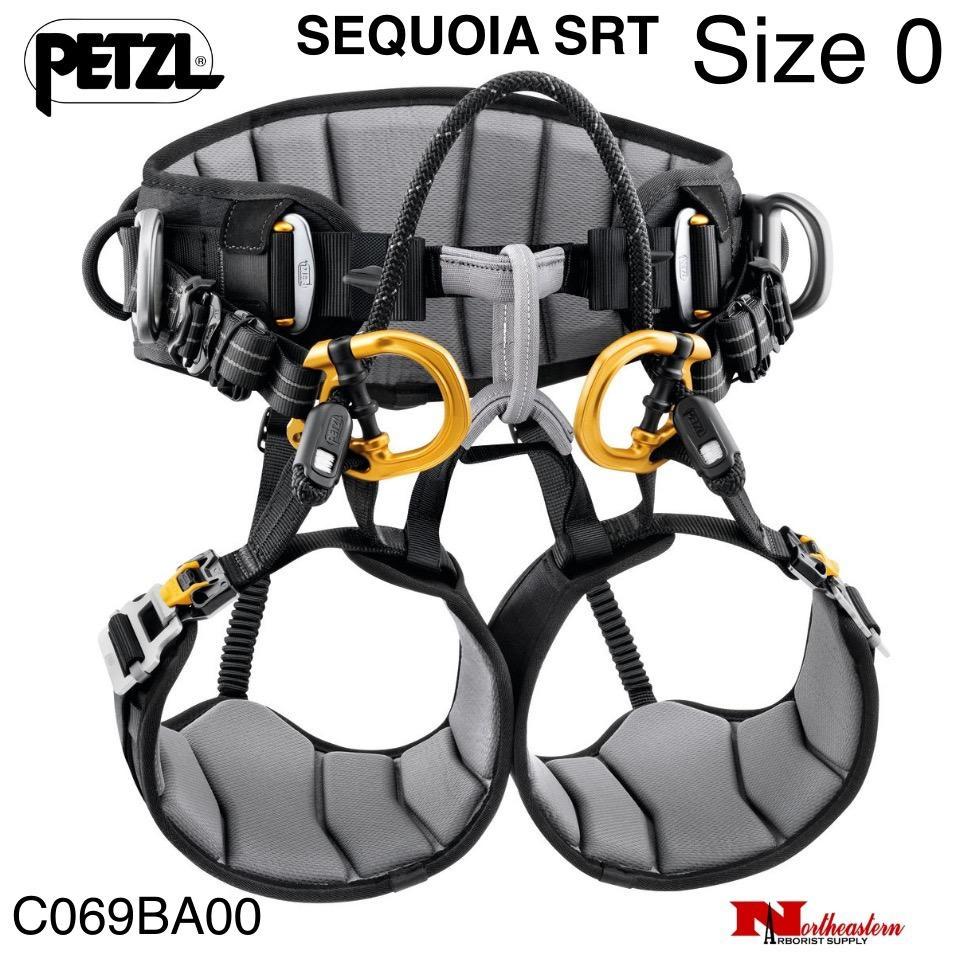 Petzl Sequoia SRT Arborist Saddle, Size 0
